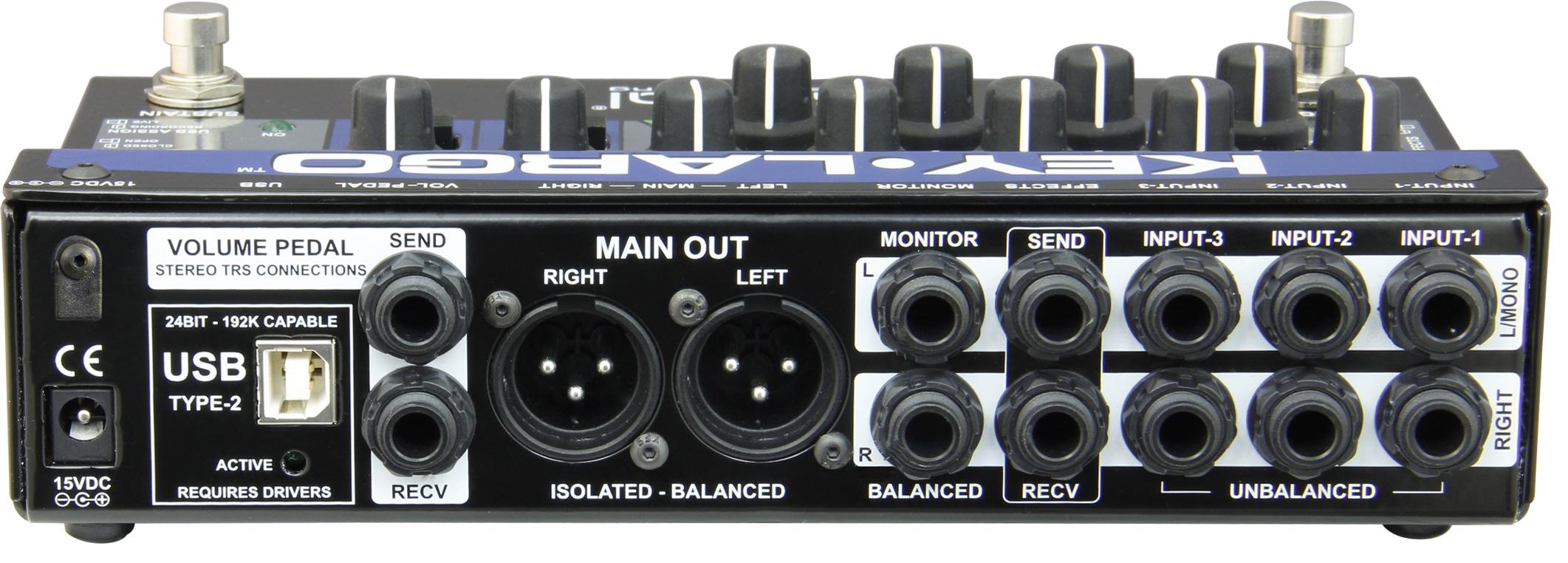 key largo inputs outputs mixer