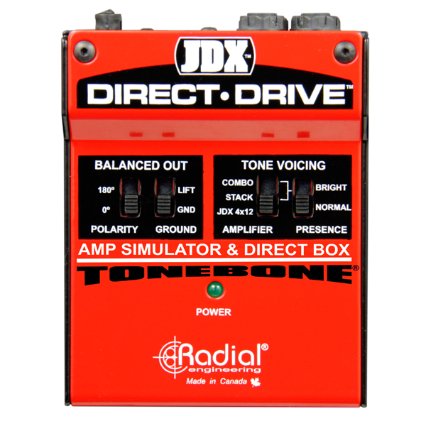 JDX Direct-Drive - Radial Engineering