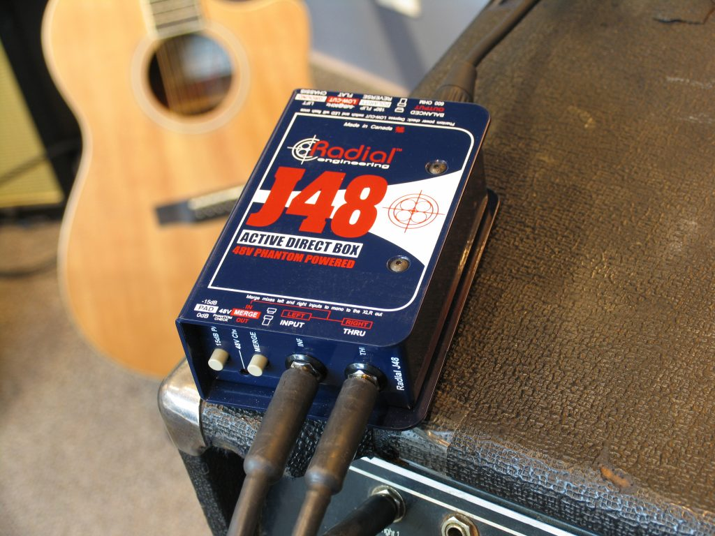J48 with and acoustic guitar
