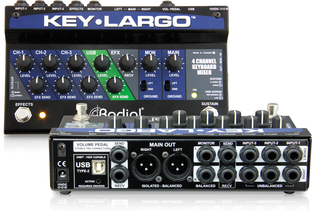 Radial Key Largo