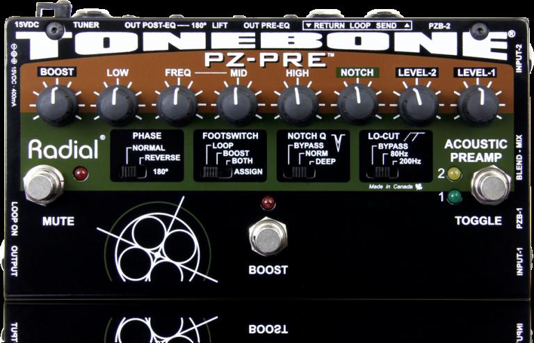 PZ-Pre - Radial Engineering