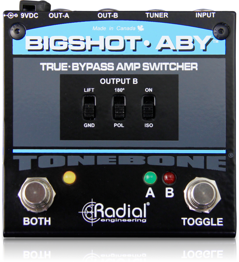 BigShot ABY - Radial Engineering on