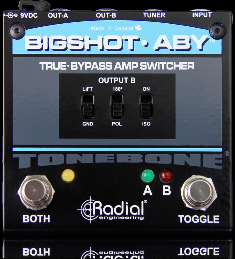true-bypass amp switcher