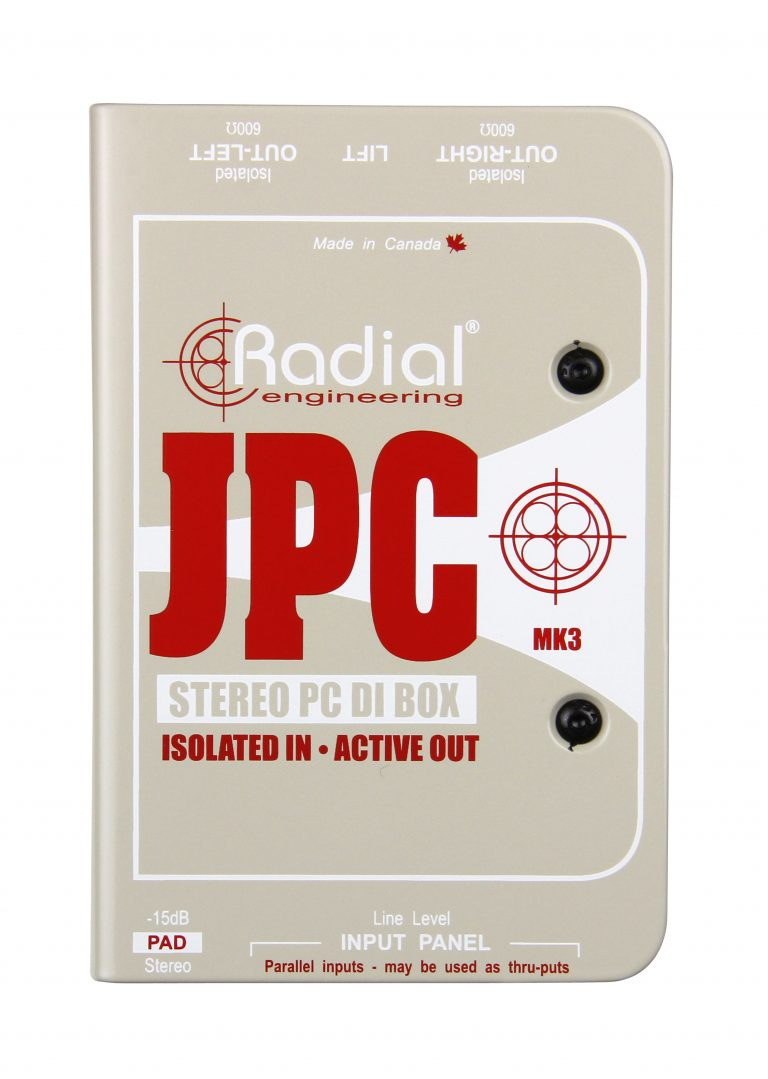 Jpc Radial Engineering Elimination Of Common Signal From Stereo Audio Previous