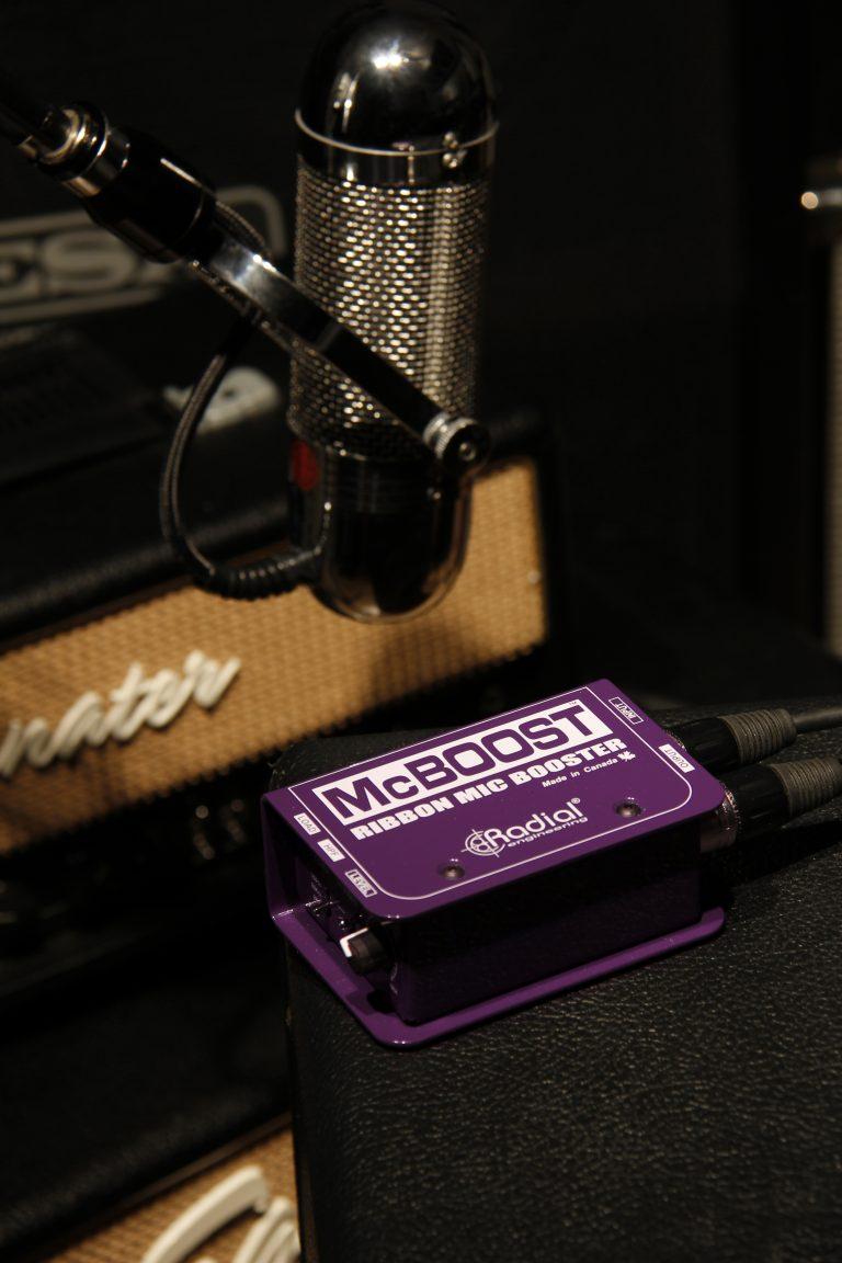 Mcboost Radial Engineering Dynamic Mic Preamplifier Circuit Next