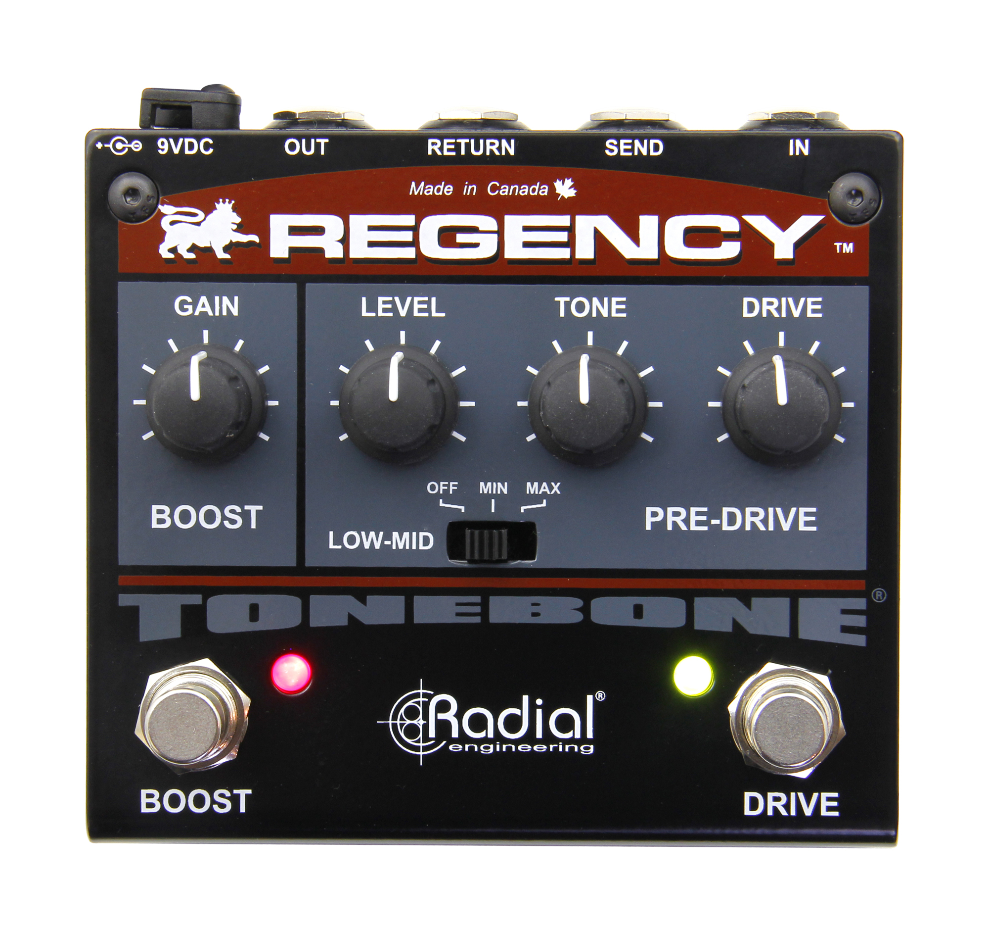New Tonebone Regency Pre-Drive and Boost Pedal