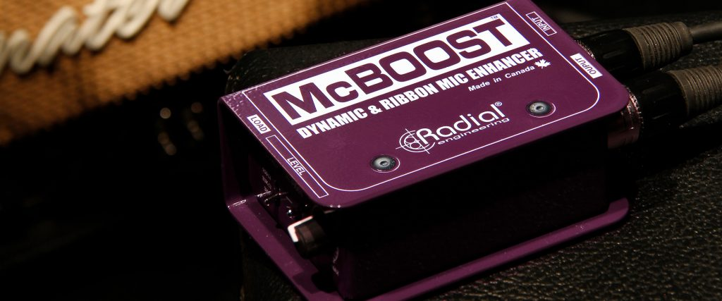 McBoost feature picture dynamic and ribbon mic enhancer