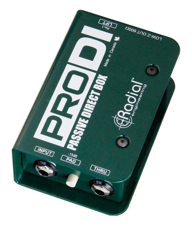 R8001100 Radial Pro DI Passive Direct Box