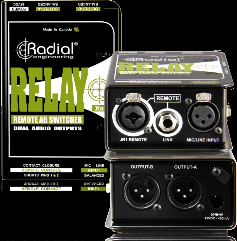 Relay Xo - Radial Engineering on