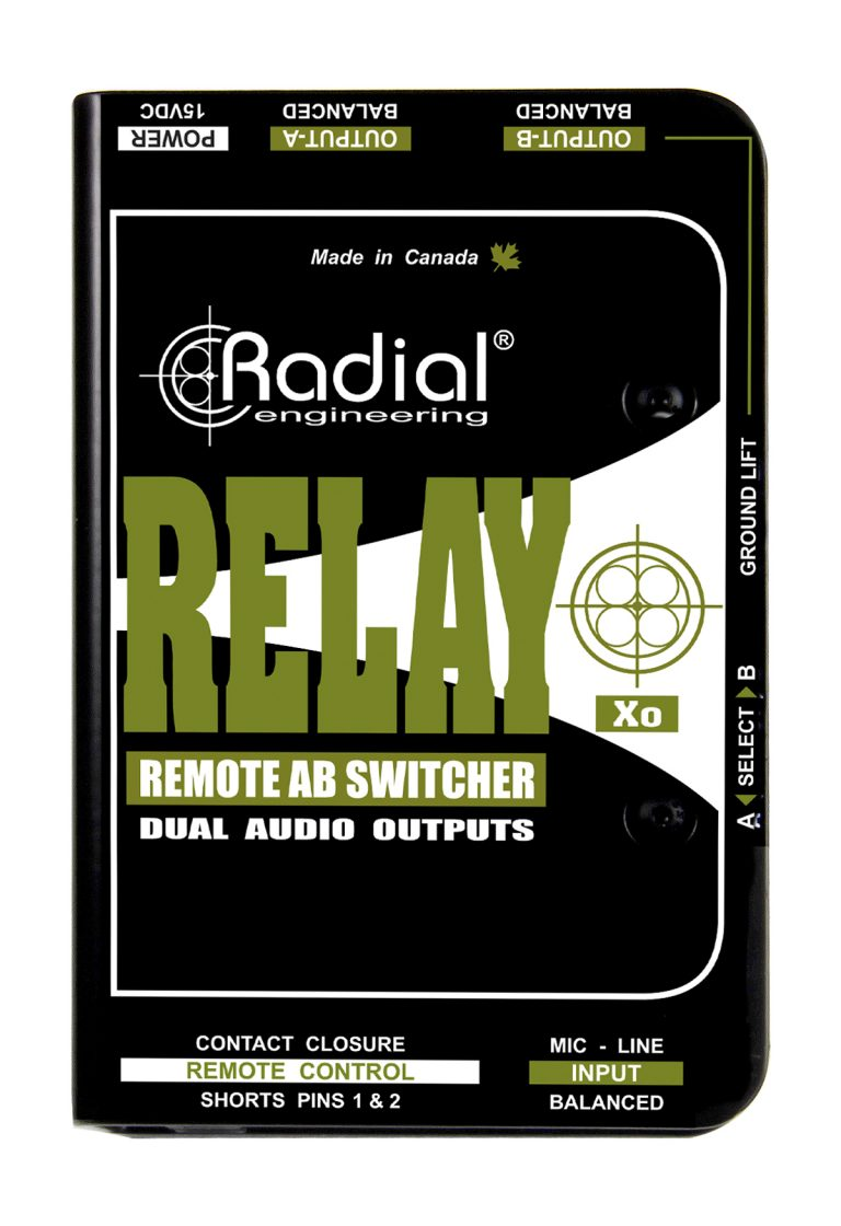 Relay Xo Radial Engineering With A Toggle Latching You Would Still Need 2 Switches Previous