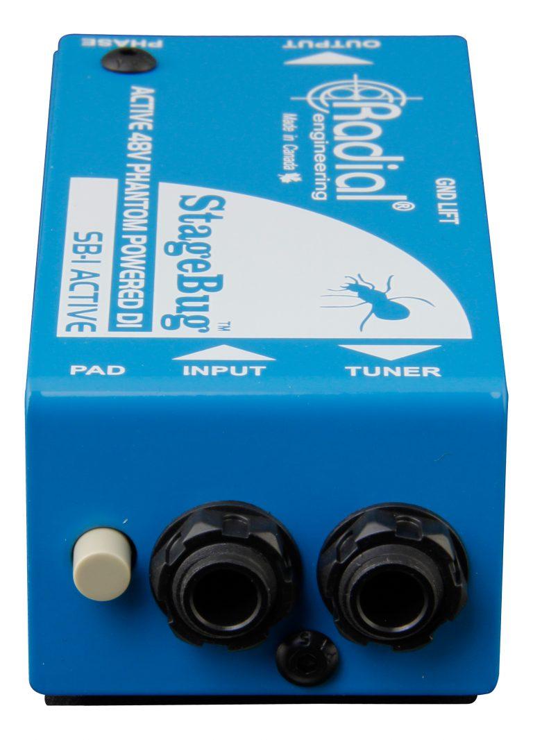 Stagebug Sb 1 Radial Engineering Acoustic Guitar Jack Wiring Diagram Battery Next
