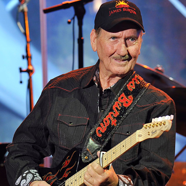 Image result for james burton 2018