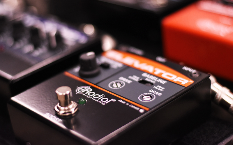 Drag Control: The Solution to Guitar Buffers - Radial