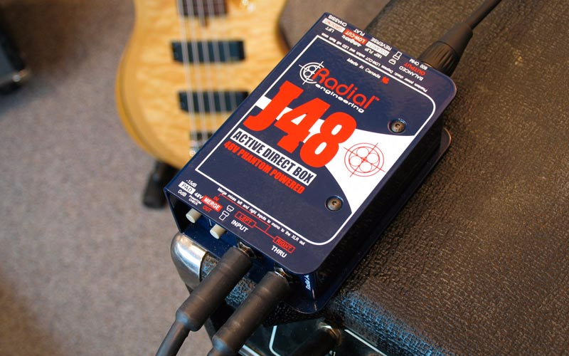 What Type of Direct Box Works Best for Bass Guitar? - Radial