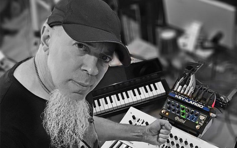 Jordan Rudess and the Radial key largo