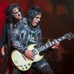 Tommy Henrikson and Alice Cooper