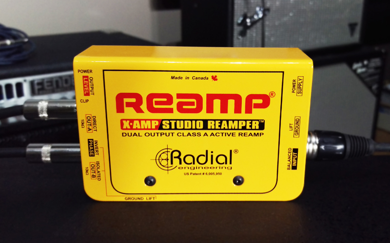 Radial X amp reamp perfect tone