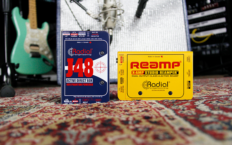 J48 and Reamp X-AMP photo from 3 reasons to reamp