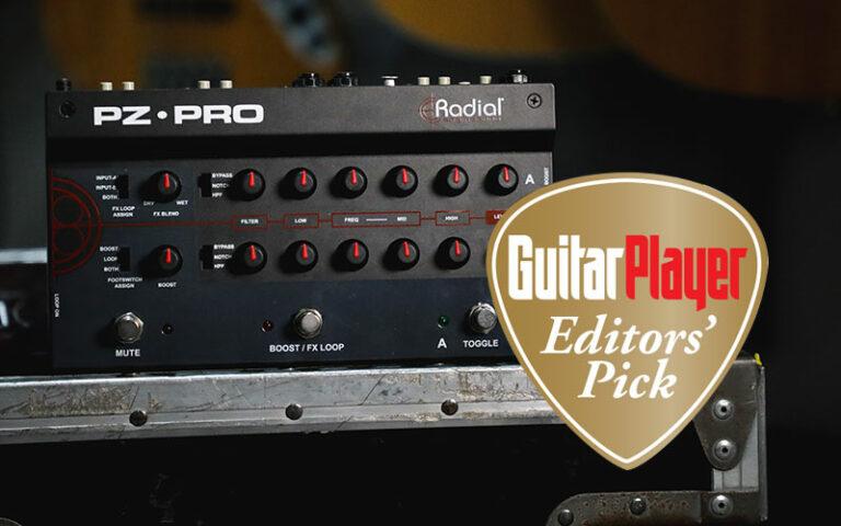 Radial PZ Pro Guitar Player Editors' Pick