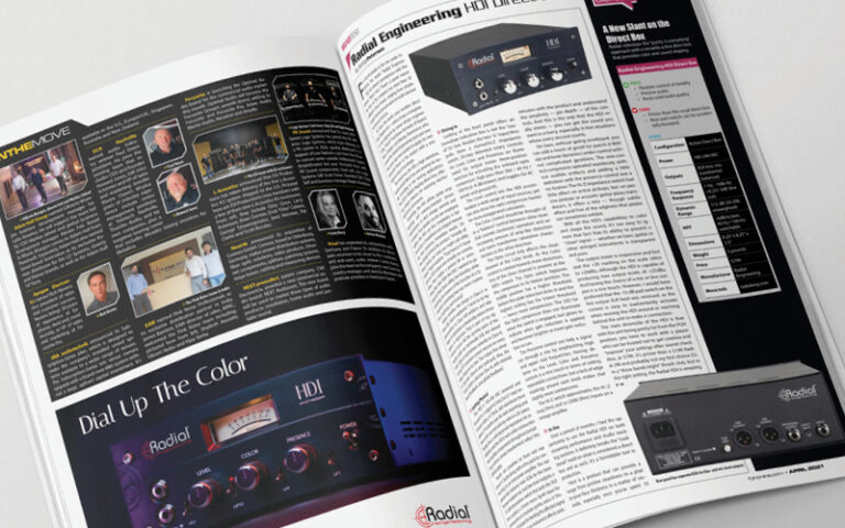 FOH Magazine HDI Review