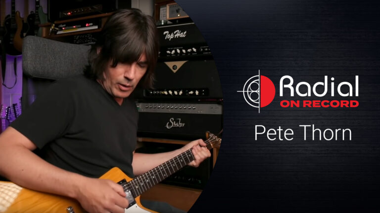 Pete Thorn Radial on Record