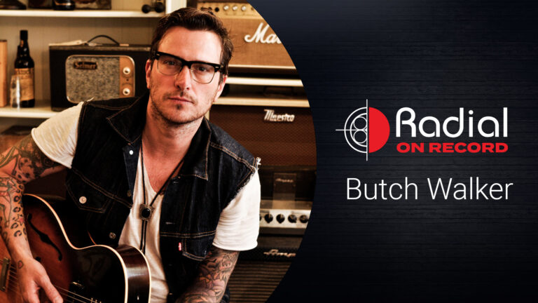 Butch Walker Radial on Record